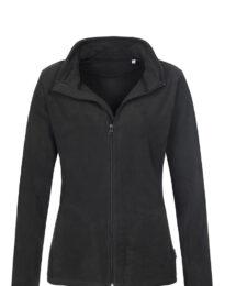 Флисовая кофта женская B&С ID 501 черная