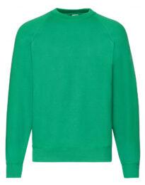 Свитшот унисекс FOL Raglan Sweat зеленый