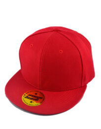 Кепка 6-ти панельная PREMIUM SNAPBACK красная