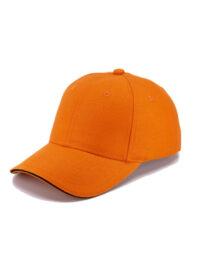 Кепка 6-ти панельная CLASSIC SANDWICH оранжевая