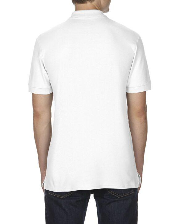 Футболка поло мужская PREMIUM Cotton 223 белая - Фото №1