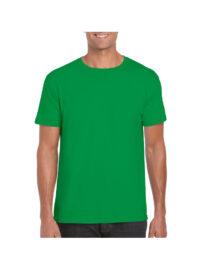 Футболка мужская SoftStyle 153 зеленая