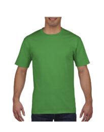 Футболка мужская Premium Cotton 185 зеленая