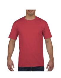 Футболка мужская Premium Cotton 185 красная