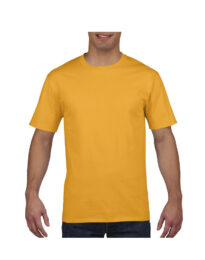Футболка мужская Premium Cotton 185 желтая