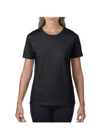 Футболка женская Premium Cotton 185 черная