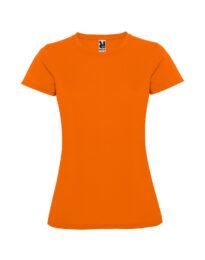 Женская футболка спортивная Montecarlo Woman 150 оранжевая