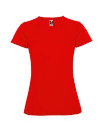 Женская футболка спортивная Montecarlo Woman 150 красная