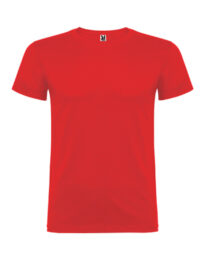 Футболка мужская Roly Beagle красная