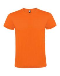 Футболка мужская Roly Atomic оранжевая