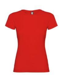 Футболка женская Roly Jamaica красная