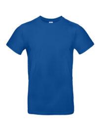 Футболка мужская  B&C #E190 синяя