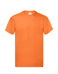 Футболка мужская FOL Original T оранжевая