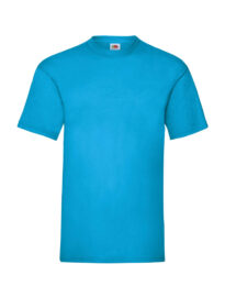 Футболка мужская FOL Valueweight T лазурно-синяя