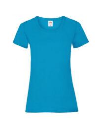Футболка женская FOL Ladies Valueweight T лазурно-синяя