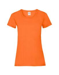 Футболка женская FOL Ladies Valueweight T оранжевая