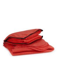 Плед-подушка из флиса Warm, TM Discover красный