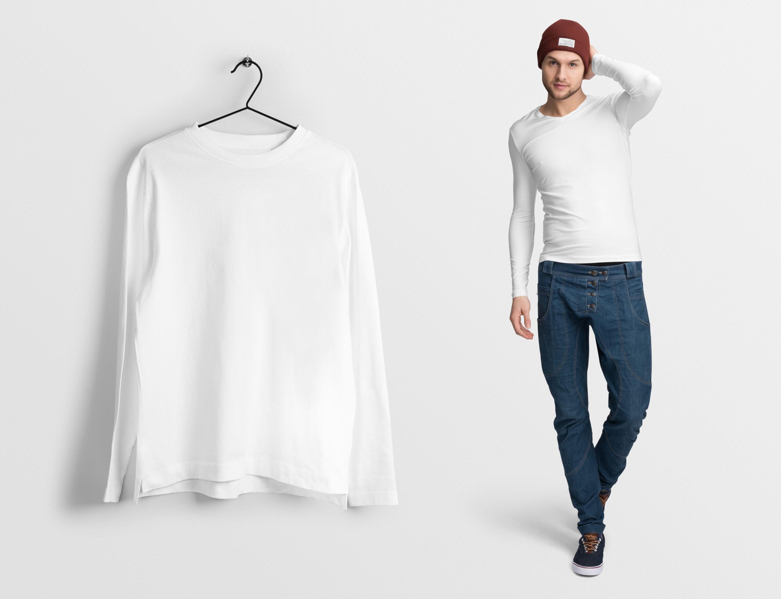 Пошив футболок <br> с длинным рукавом